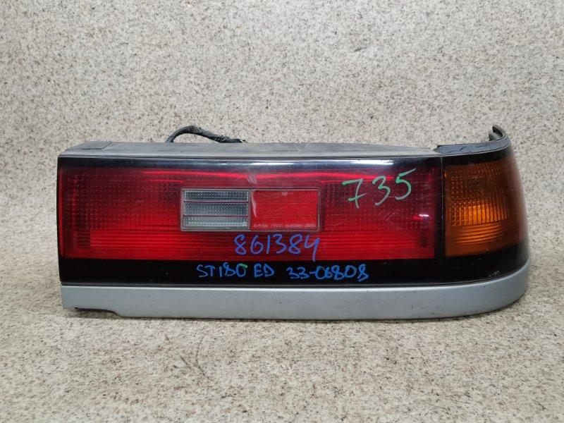 Стоп-сигнал Toyota Carina Ed ST180 задний правый #861384