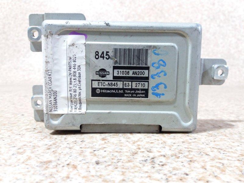 Блок переключения кпп Nissan March K11 CGA3DE #571559
