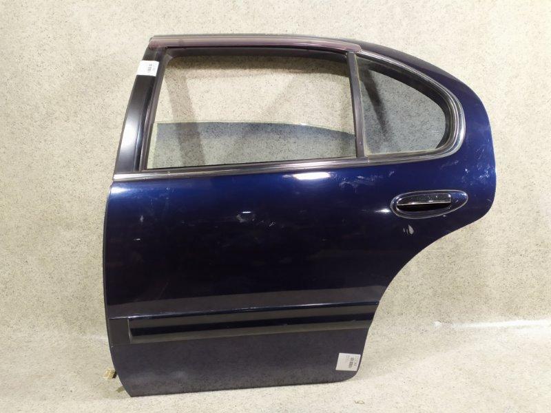 Дверь Nissan Cefiro A32 VQ20DE задняя левая