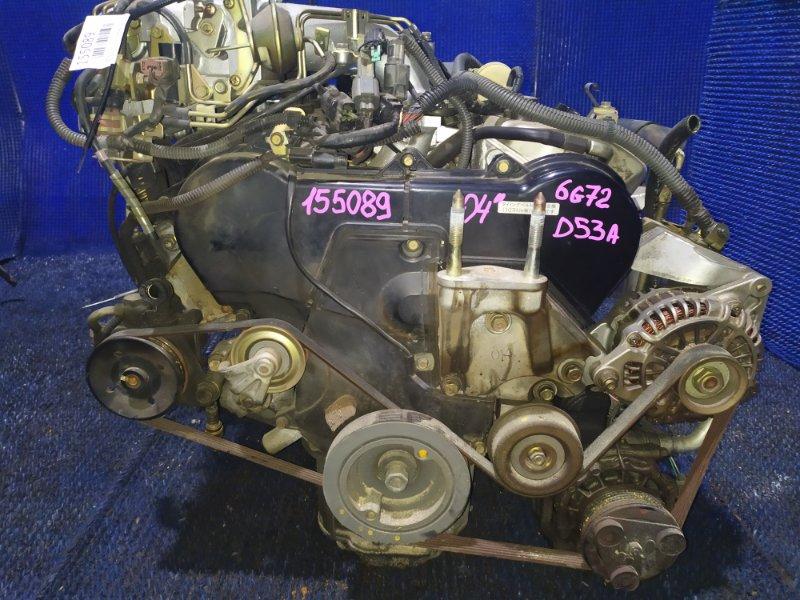 Двигатель Mitsubishi Eclipse D53A 6G72 2004