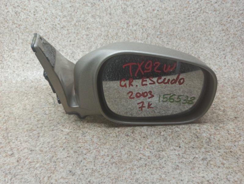 Зеркало Suzuki Grand Escudo TX92W переднее правое