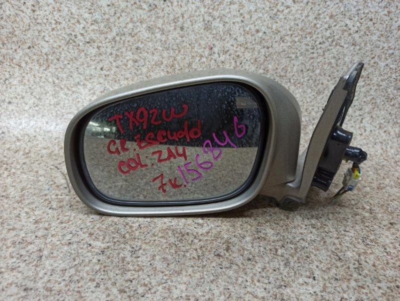 Зеркало Suzuki Grand Escudo TX92W переднее левое