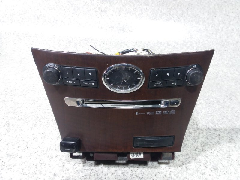 Магнитофон Nissan Fuga Y50 VQ35DE