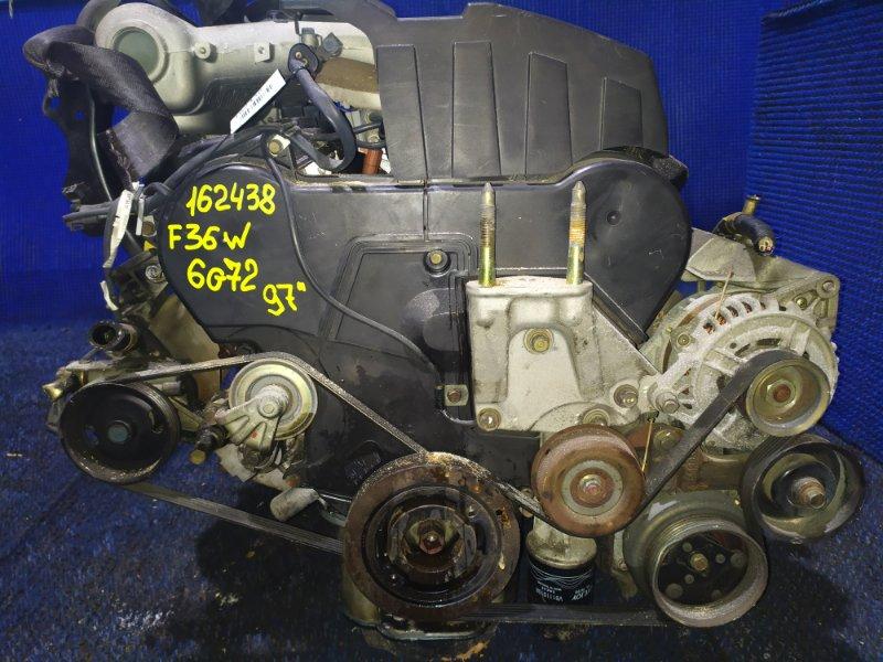 Двигатель Mitsubishi Diamante F36W 6G72 1997
