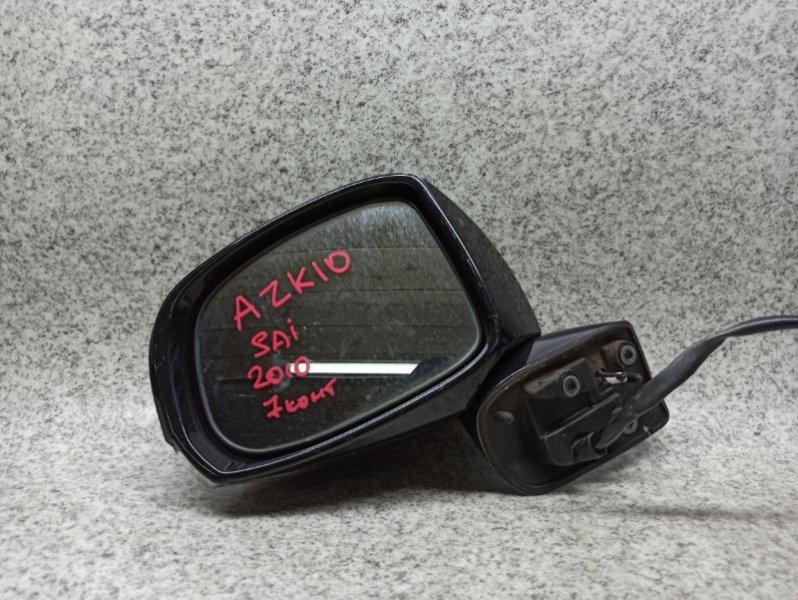 Зеркало Toyota Sai AZK10 2010 переднее левое