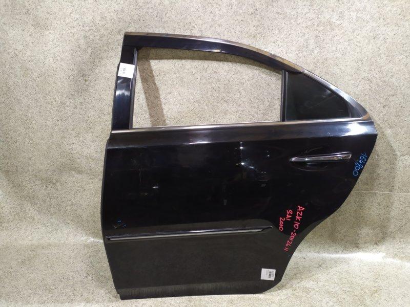Дверь Toyota Sai AZK10 2010 задняя левая