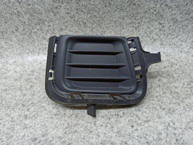 Заглушка бампера Toyota Aqua NHP10 1NZ-FXE передняя правая