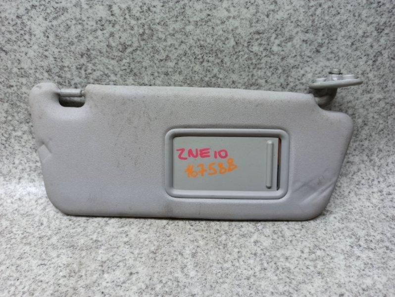 Козырек солнцезащитный Toyota Wish ZNE10 передний правый