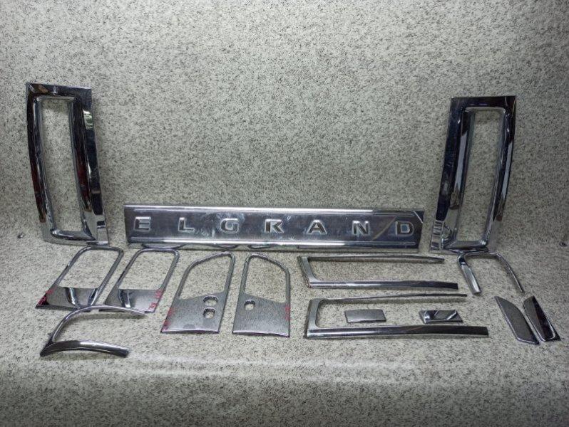Накладка на дверь Nissan Elgrand E51