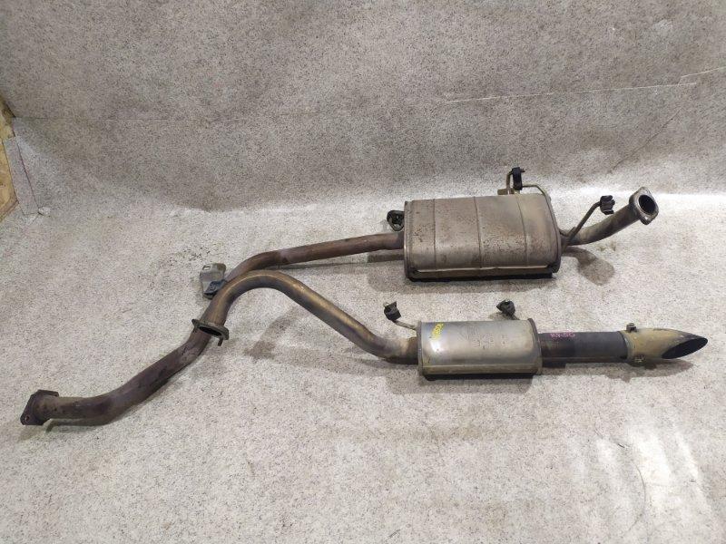 Глушитель Nissan Terrano R50 QD32ETI
