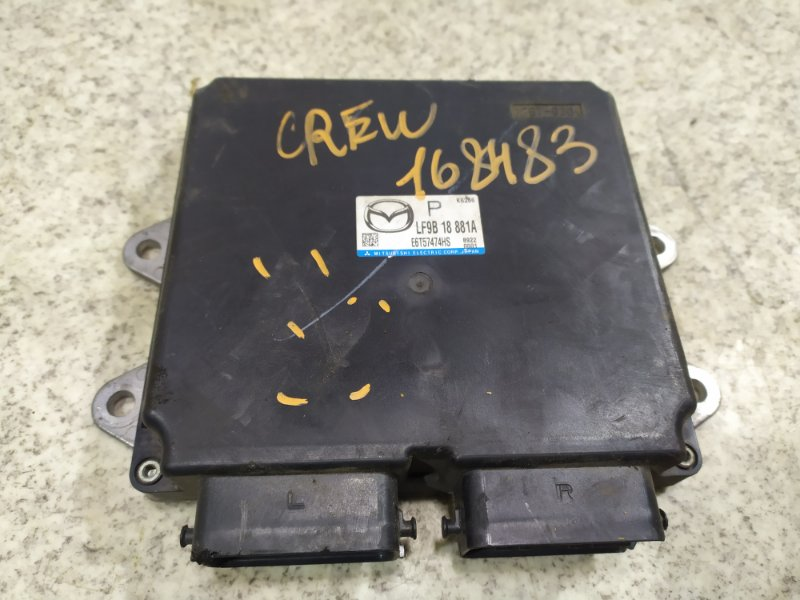 Блок управления efi Mazda Premacy CREW