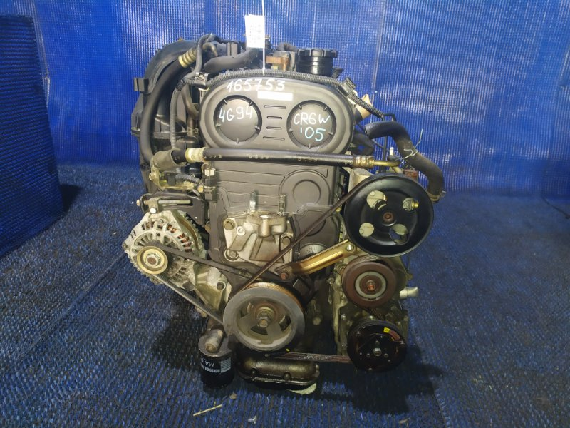 Двигатель Mitsubishi Dion CR6W 4G94 GDI 2005