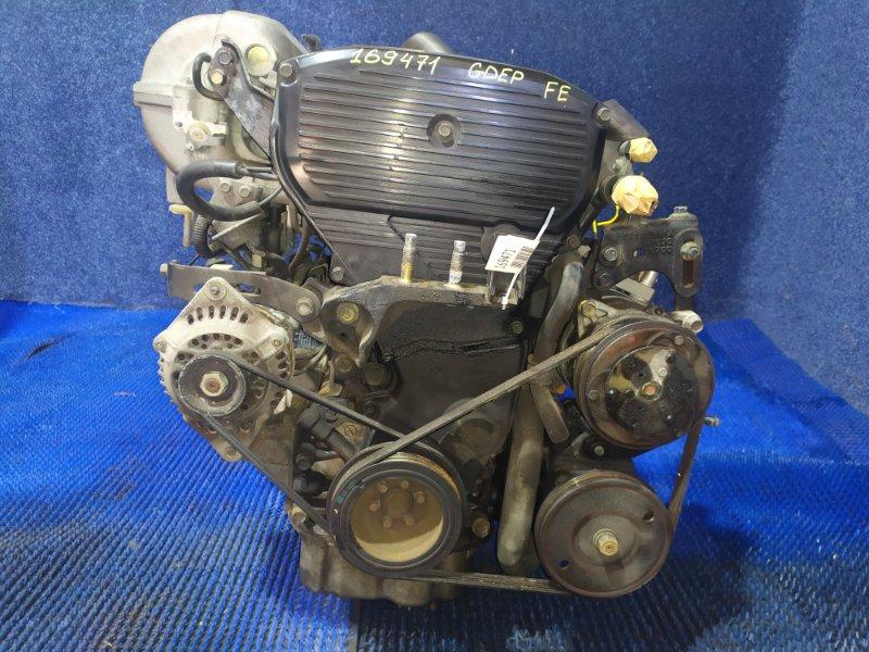 Двигатель Mazda Capella GDEP FE-DE 1990