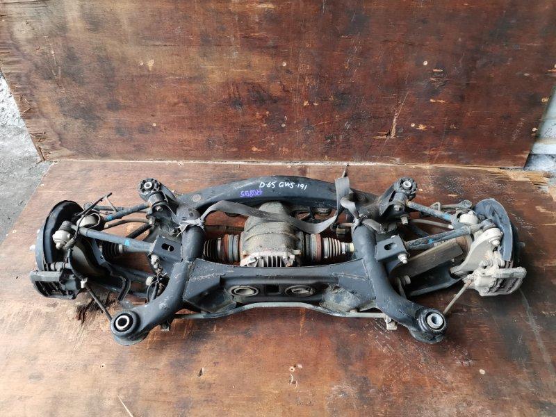 Балка подвески Lexus Gs450H GWS191 2GR-FSE 2006 задняя