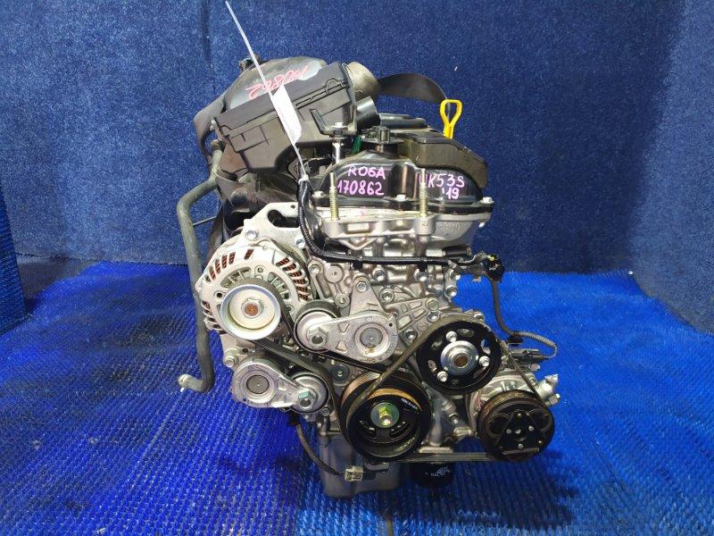 Двигатель Suzuki Spacia MK53S R06A 2019
