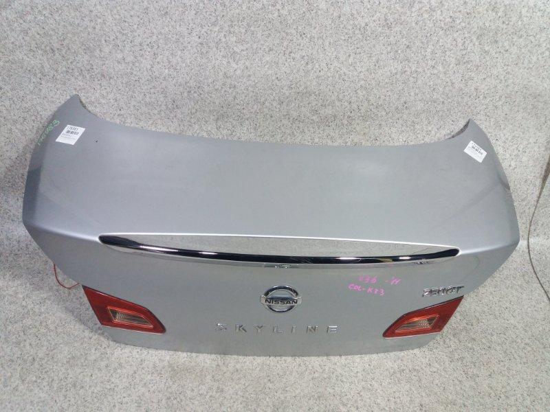Крышка багажника Nissan Skyline V36 2011 задняя