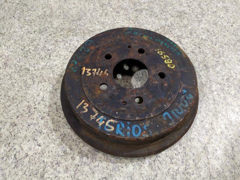 Тормозной диск Daihatsu Terios Kid J111G задний #581446