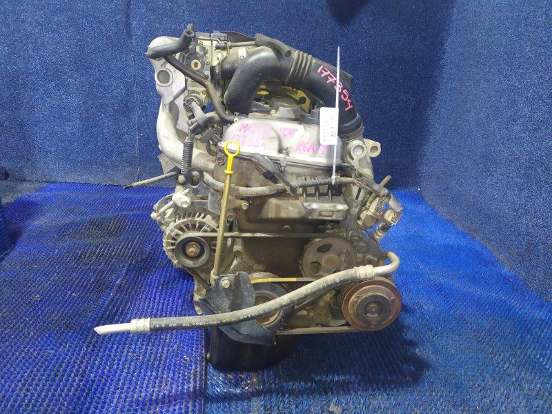 Двигатель Nissan Moco MG21S K6A-T 2004