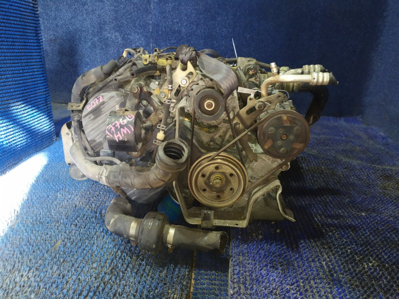 Двигатель Honda Vamos HM1 E07Z-T 2005