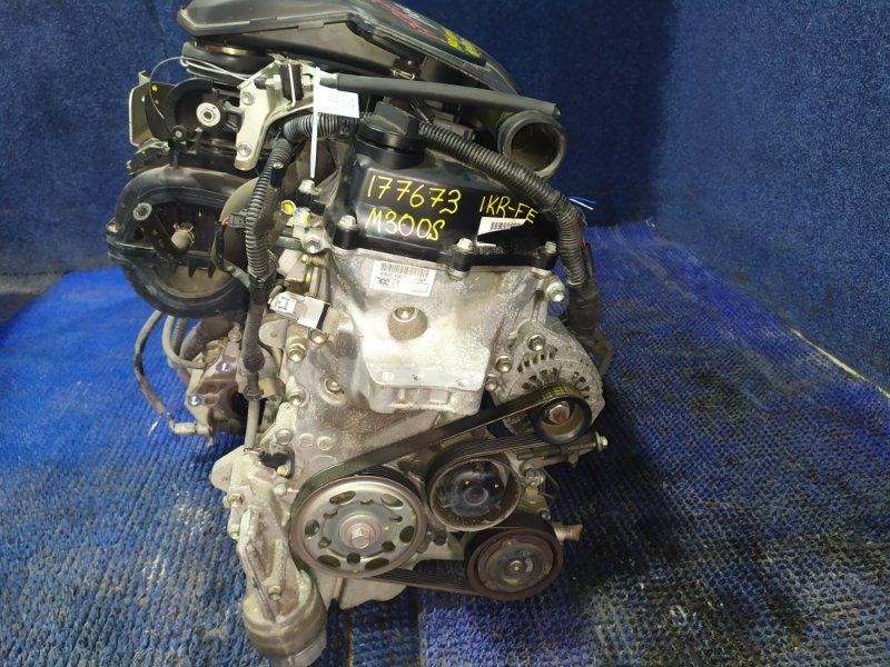 Двигатель Daihatsu Boon M300S 1KR-FE 2007