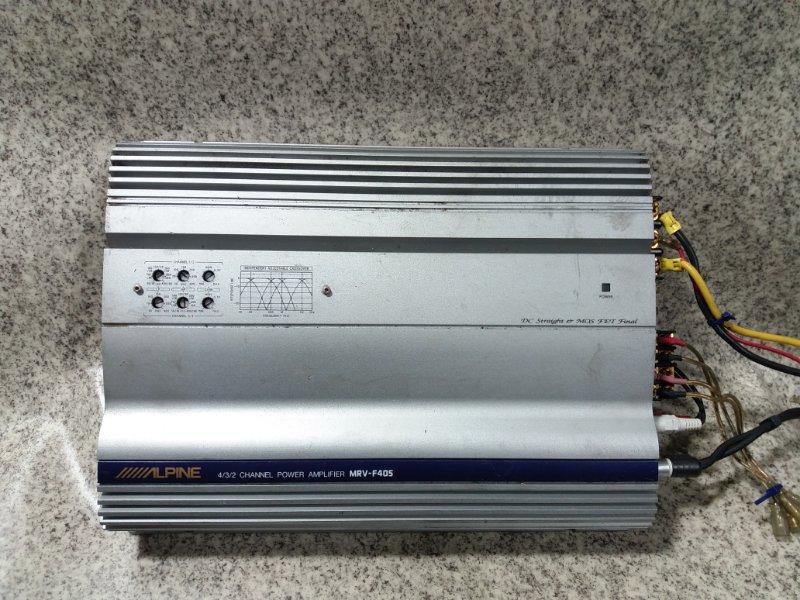 Усилитель звука Alpine Mrv-F405