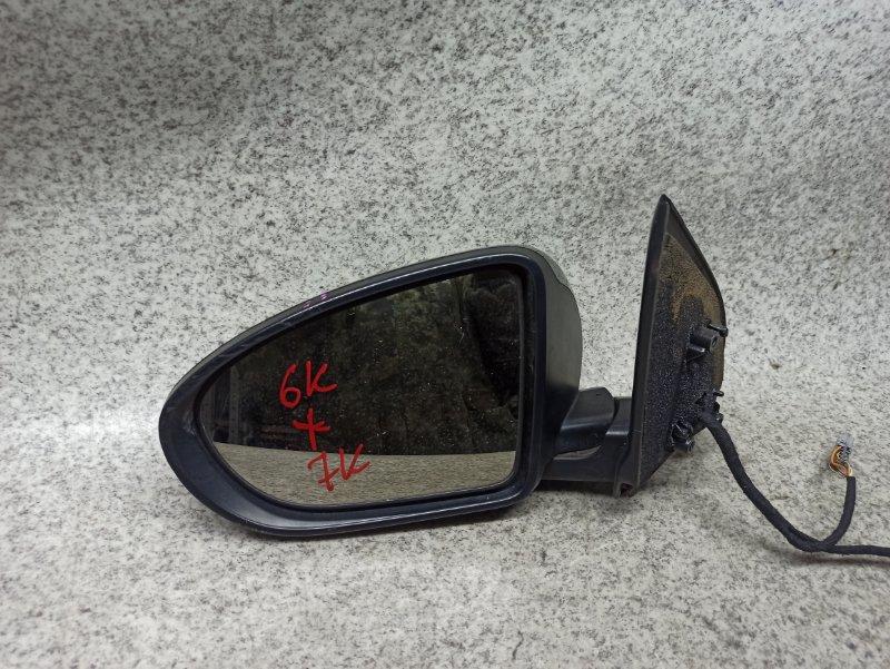 Зеркало Nissan Dualis J10 переднее левое