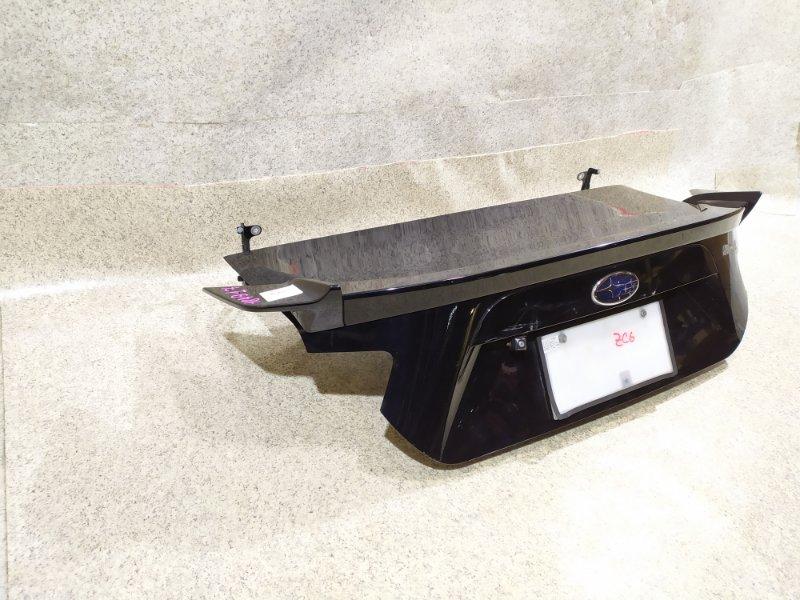 Крышка багажника Subaru Br-Z ZC6 задняя
