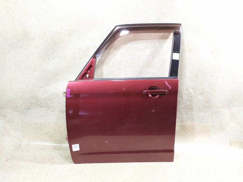 Дверь Suzuki Solio MA15S K12B передняя левая