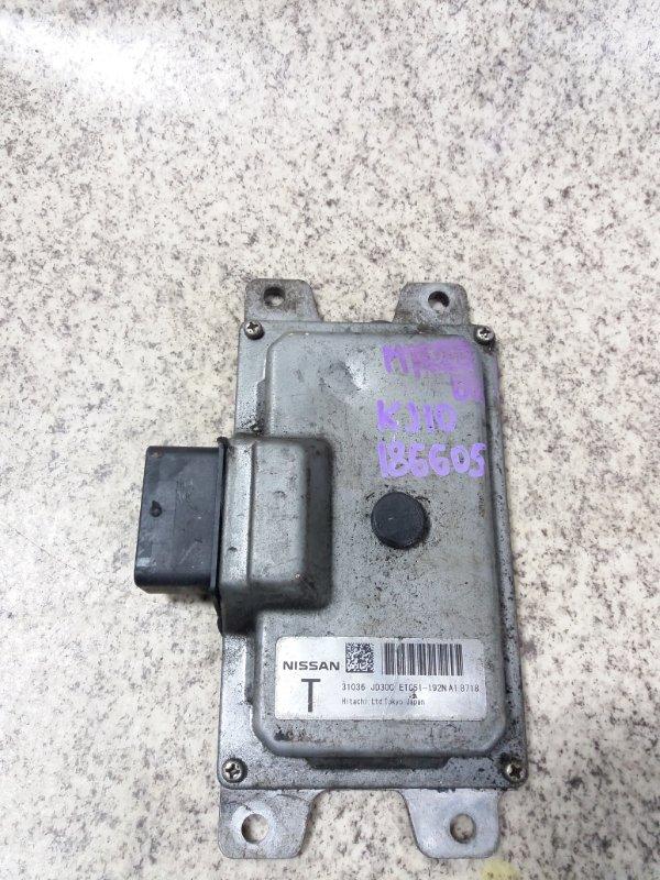 Блок управления акпп Nissan Dualis J10 MR20DE