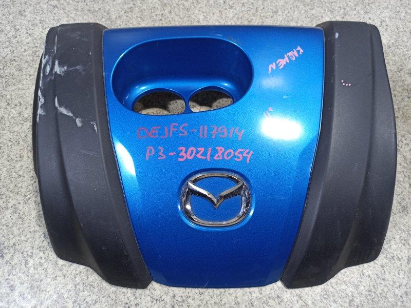 Пластиковая крышка на двс Mazda Demio DEJFS P3
