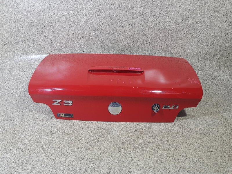 Крышка багажника Bmw Z3 E36 задняя