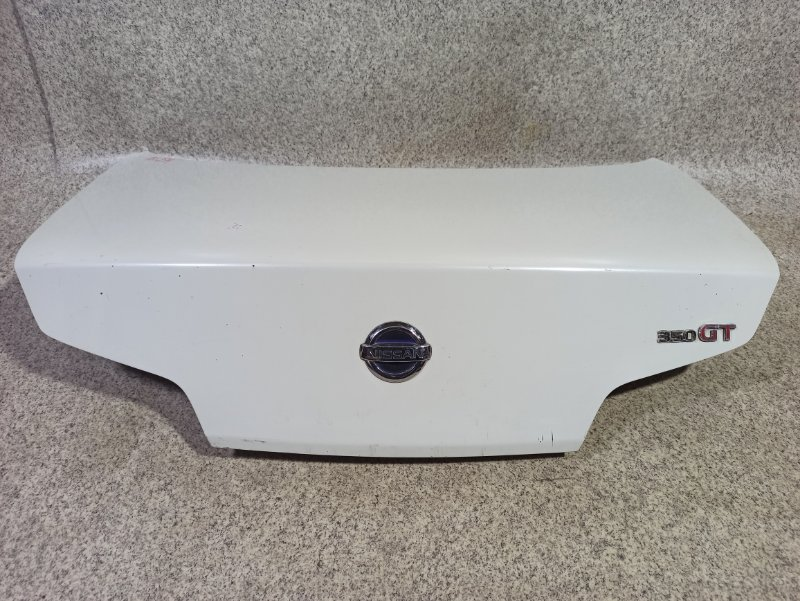 Крышка багажника Nissan Skyline CPV35 VQ35DE задняя