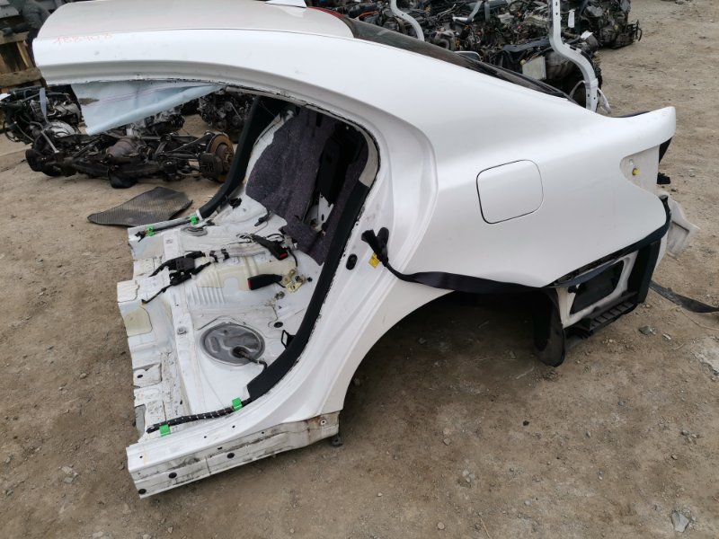 Rear cut Lexus Ls460 USF40 1UR-FSE 2006 задний