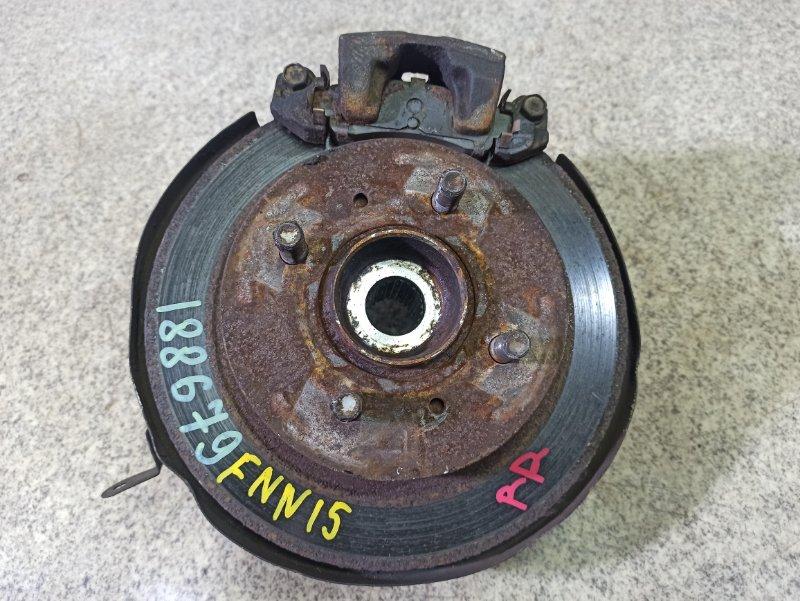 Ступица Nissan Pulsar N15 GA15DE задняя правая