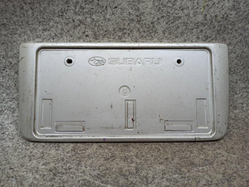 Рамка под номер Subaru задняя