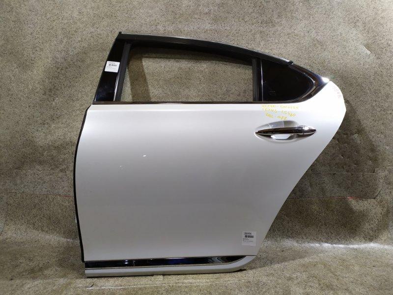 Дверь Lexus Ls460 USF40 1UR-FSE задняя левая