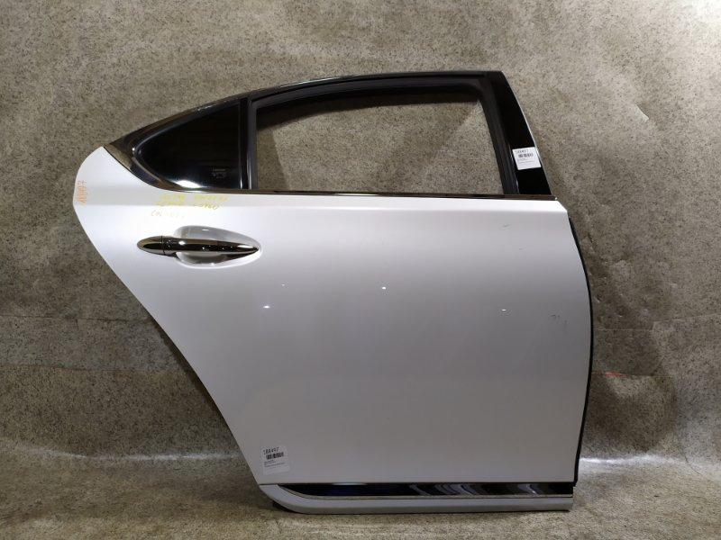 Дверь Lexus Ls460 USF40 1UR-FSE задняя правая