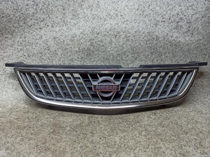 Решетка радиатора Nissan Sunny B15 QG15DE передняя