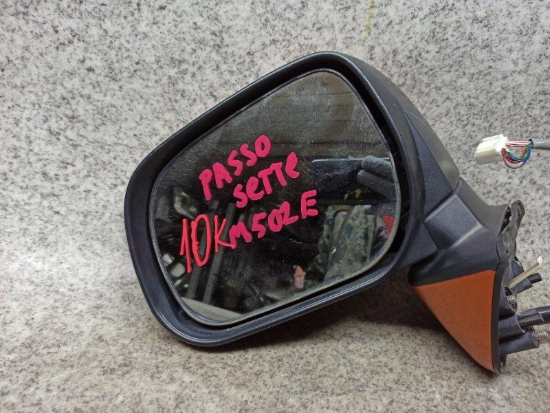 Зеркало Toyota Passo Sette M502E переднее левое