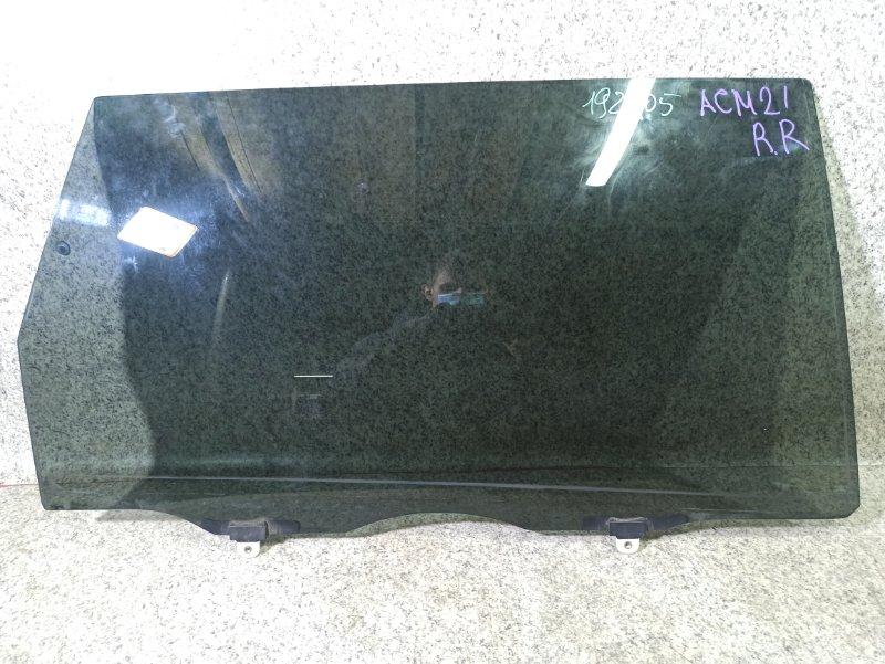 Стекло двери Toyota Ipsum ACM21 заднее правое