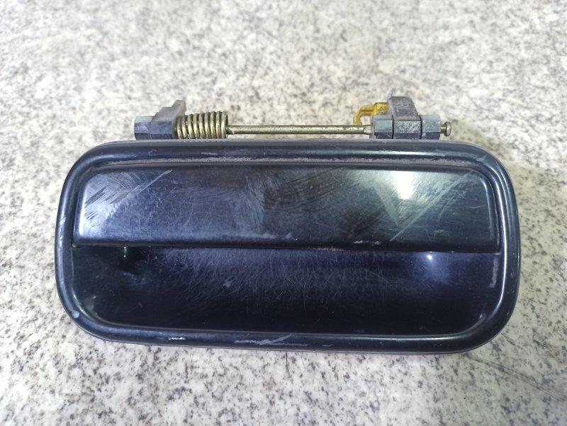 Ручка двери Toyota Hilux Surf RZN185 задняя левая