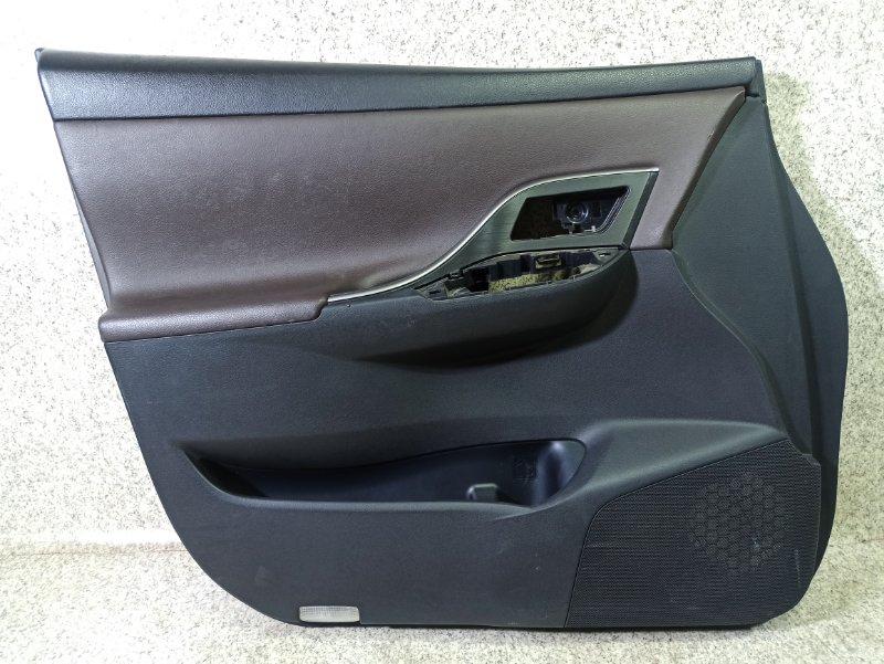 Обшивка дверей Toyota Mark X Zio ANA10 передняя левая