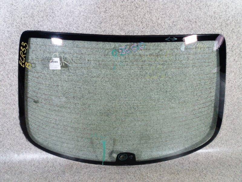 Стекло заднее Nissan Skyline R33 RB20E заднее #026010