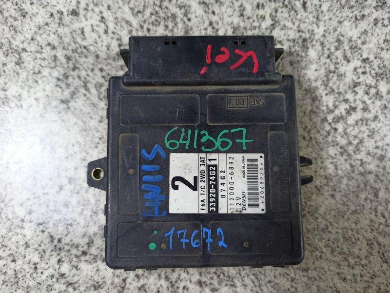 Блок управления efi Suzuki Kei HN11S F6A-T #641367