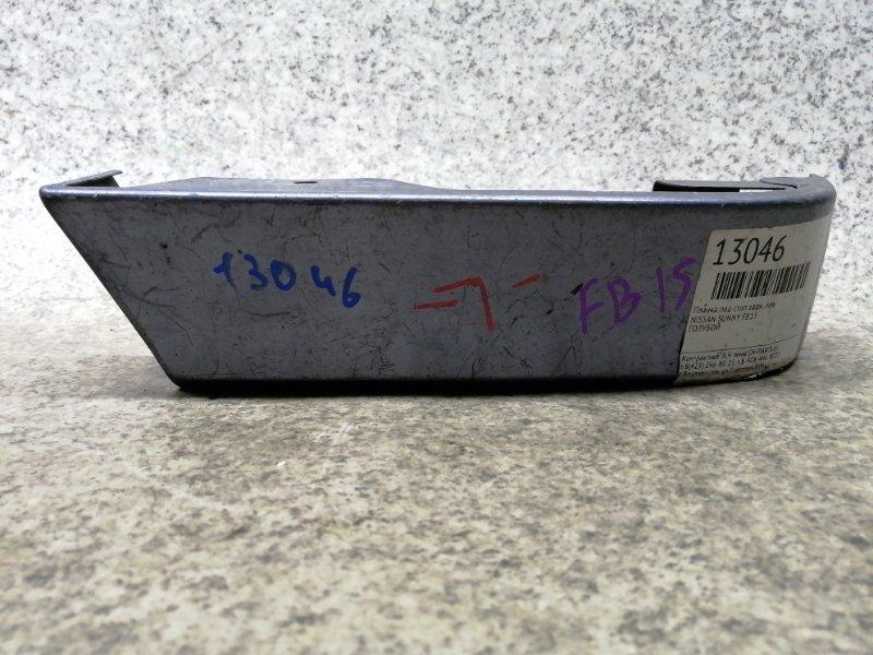 Планка под стоп Nissan Sunny B15 QG15DE задняя левая #56756