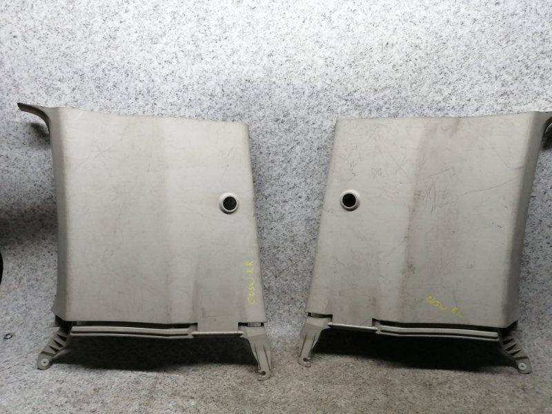 Накладка на стойку кузова Mitsubishi Delica D:5 CV5W 4B12 2008 задняя левая #42837