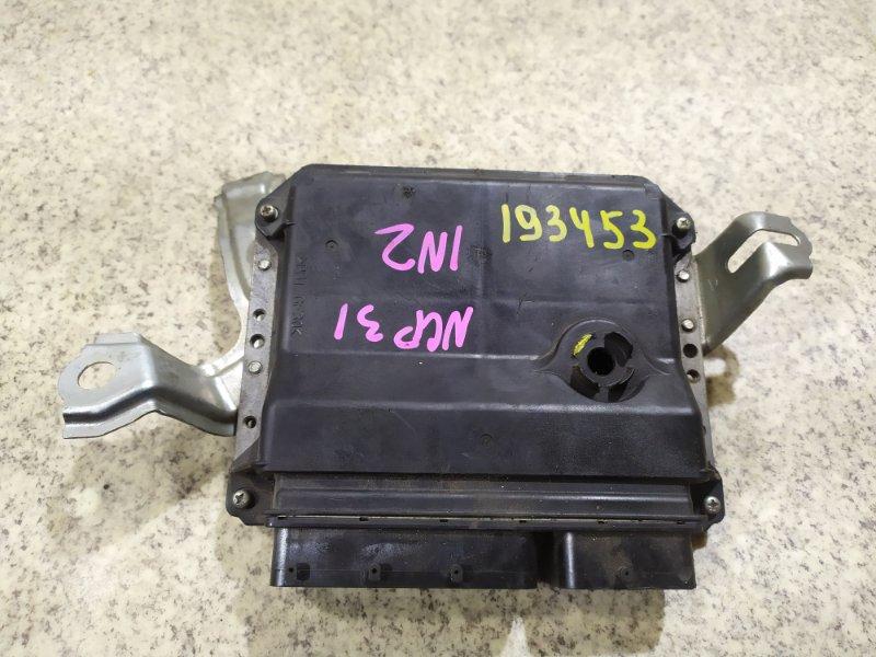 Блок управления efi Toyota Vitz NCP91 1NZ-FE