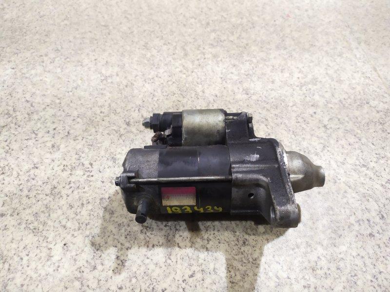 Стартер Toyota Sienta NCP81 1NZ-FE