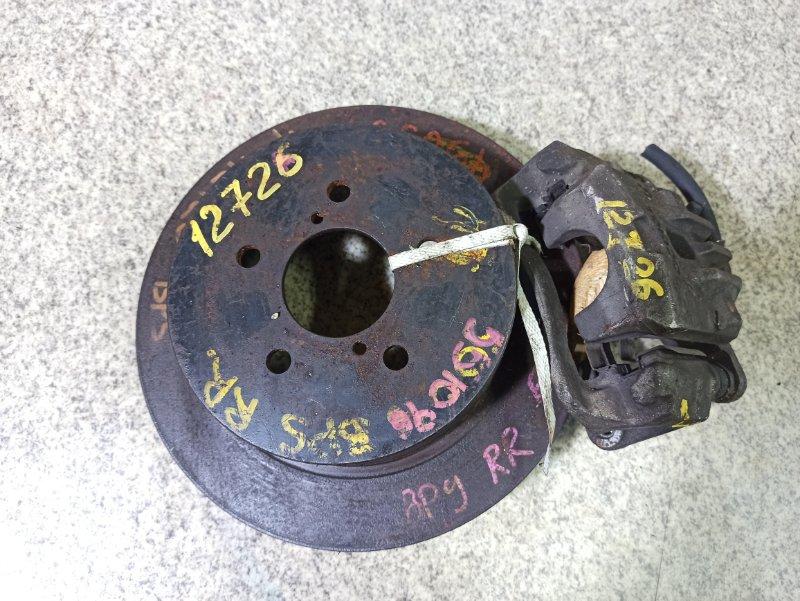 Тормозной диск Subaru Legacy BL5 задний правый #551096