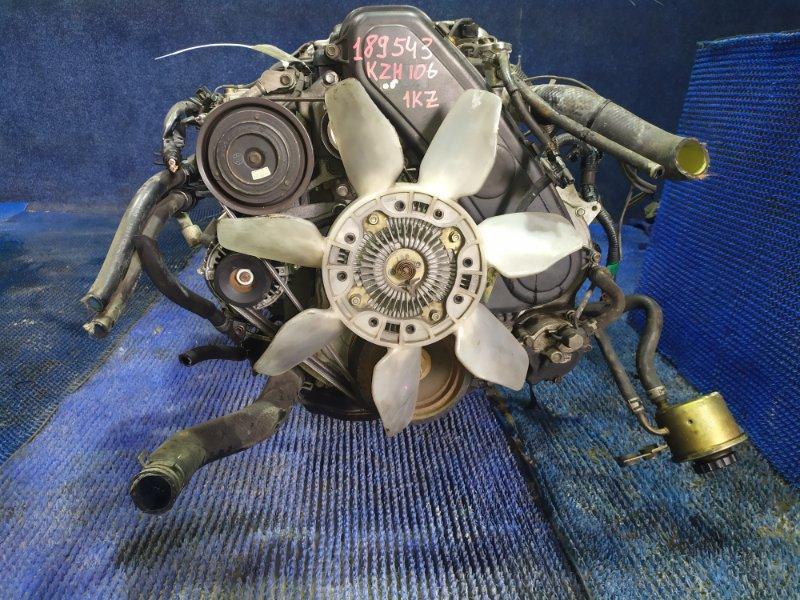 Двигатель Toyota Regius Ace KZH106 1KZ-TE 2001
